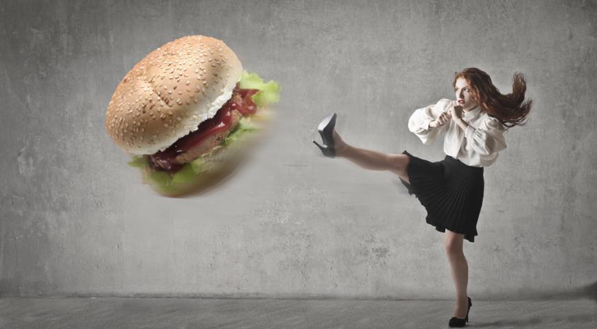 я не ем готовые гамбургеры