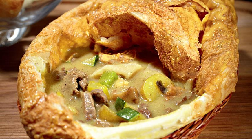 Рецепт Говядина с соусом карри от тетушки Мими