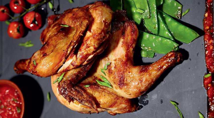 Рецепт Цыпленок Abbey Road с овощами