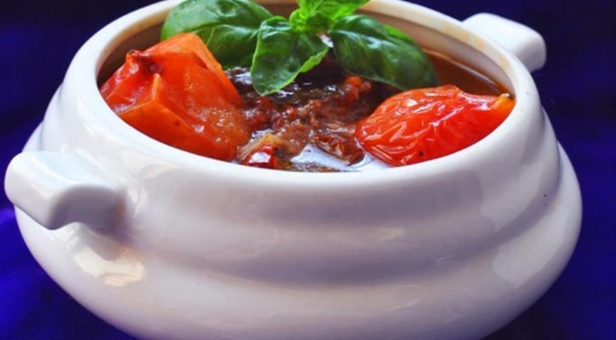 Рецепт Beef al Pomodoro