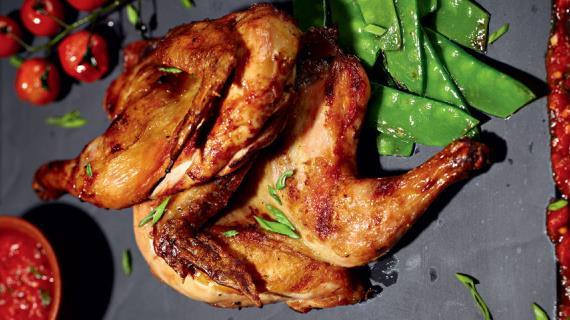 Цыпленок Abbey Road с овощами, пошаговый рецепт с фото