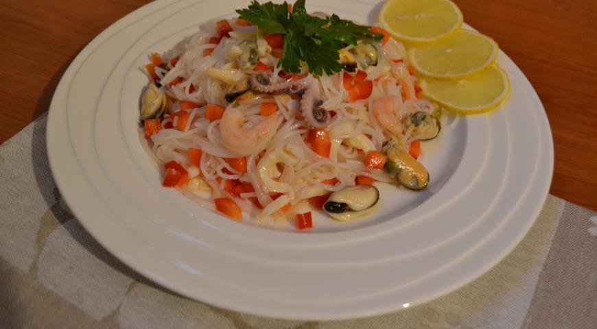 Рецепт Коктельный салат