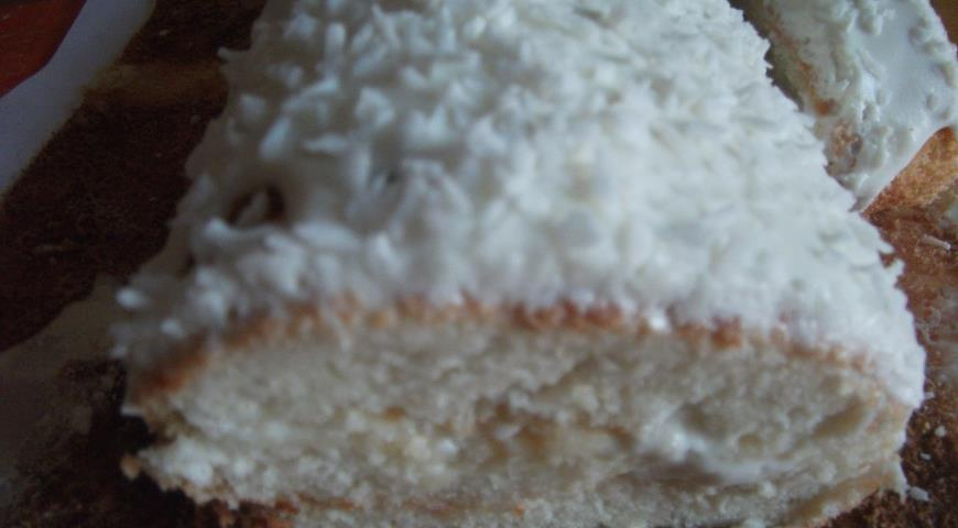 Рецепт Белый рулет (снежный рулет)