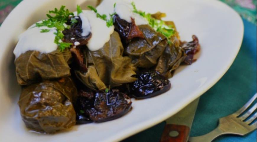 Рецепт Долма с кускусом и черносливом