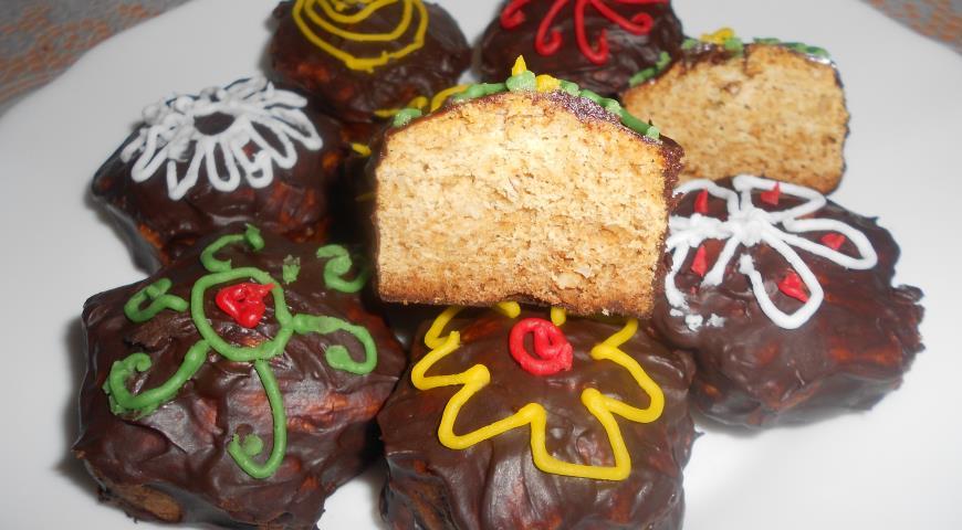 Рецепт Шоколадно-медовые пряники