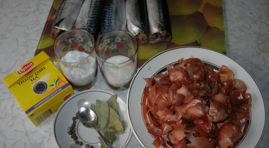 Засолка скумбрии пошаговый рецепт