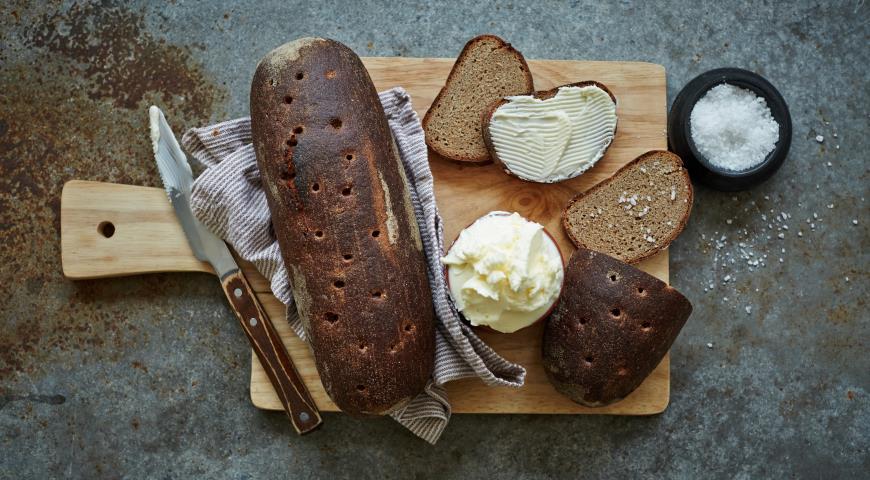 Рецепт Ржано-пшеничный хлеб «Славянский»