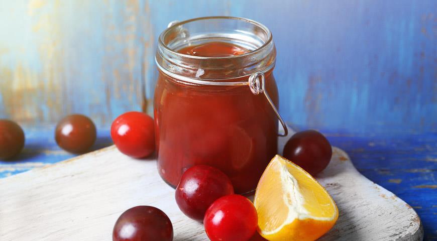 Рецепт Варенье из сливы с апельсином