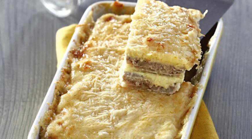 Рецепт Запеканка из свинины с сельдереем