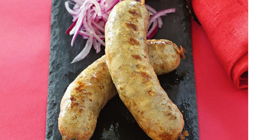 Рецепт Домашние свиные колбаски