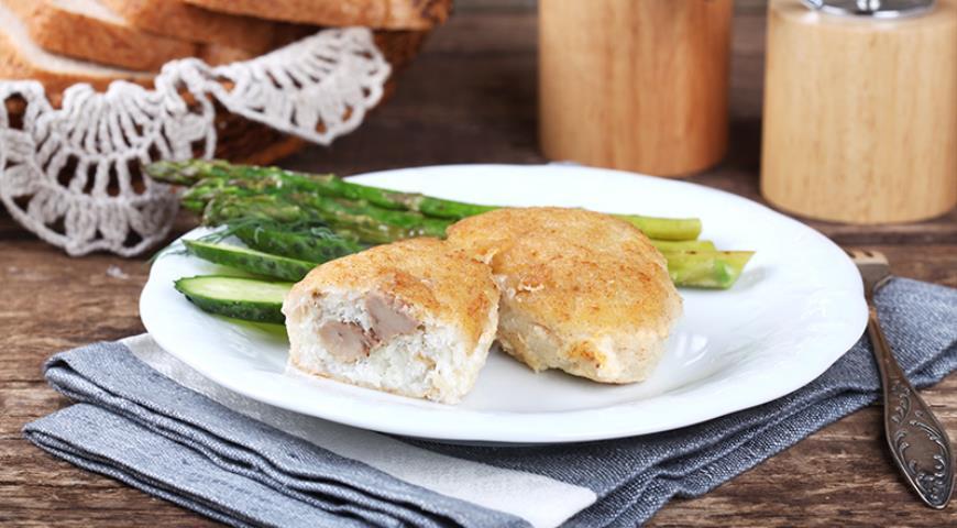 Рецепт Рыбные зразы с печенью трески