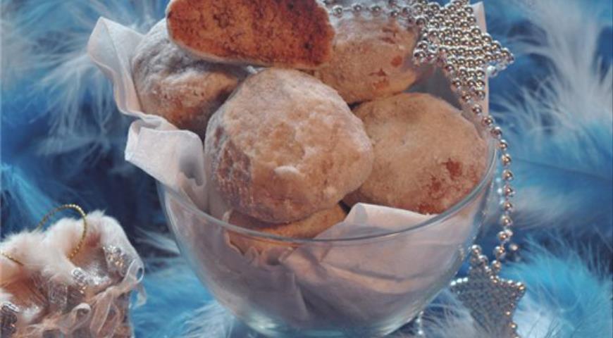 Рецепт Ореховое печенье «Снежки»