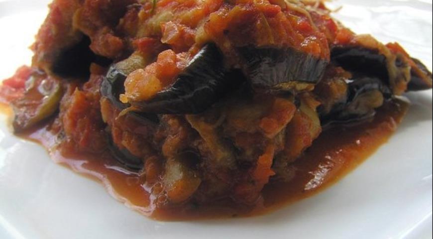Рецепт Запеканка из баклажанов под итальянским соусом