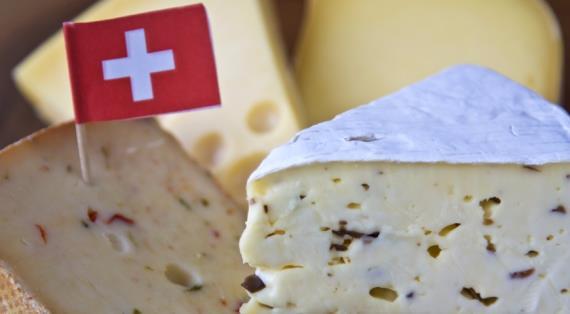 Швейцарский сыр в Украине