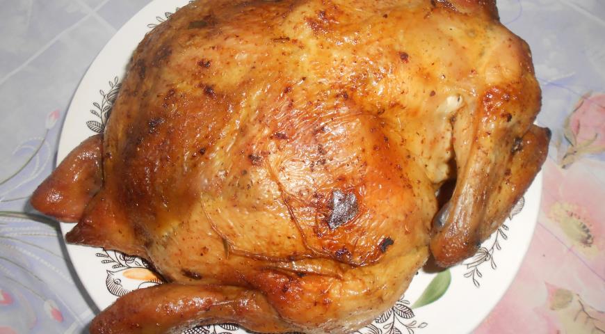 Рецепт Праздничная курочка