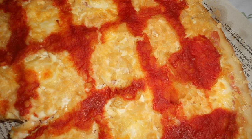 Рецепт Пицца с курицей и сыром