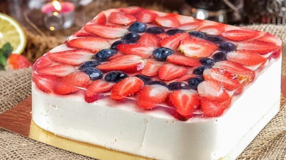 Рецепты тортов птичье молоко с фруктами