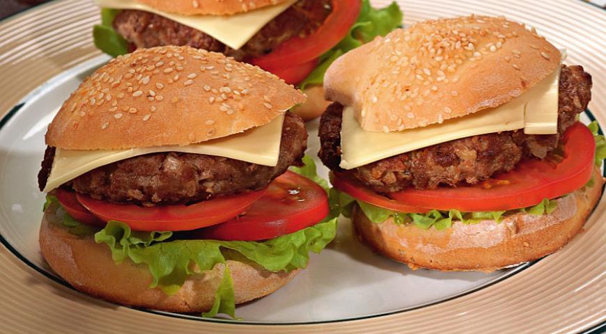 Рецепт Домашние бургеры