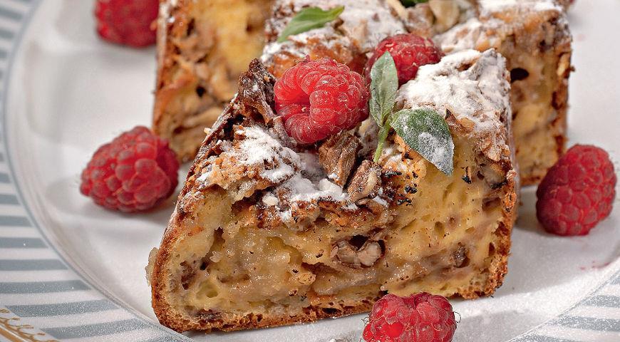 Рецепт Банановый кекс с орехами