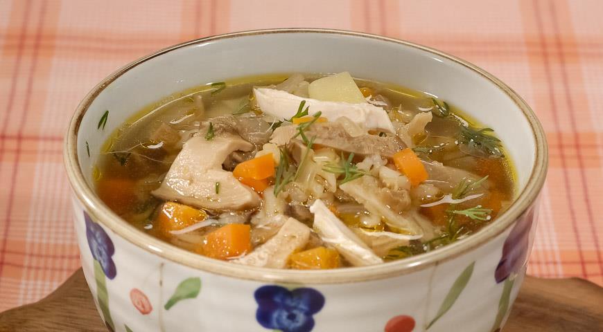 суп из перловки рецепт и грибы