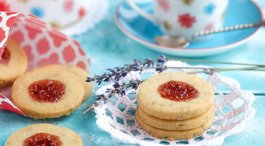 Рецепт Песочное печенье с джемом