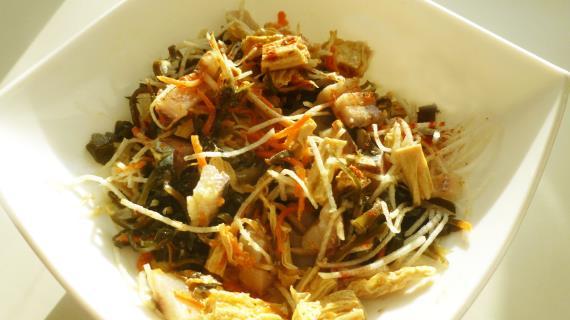 салат из редиса рецепт с капустой