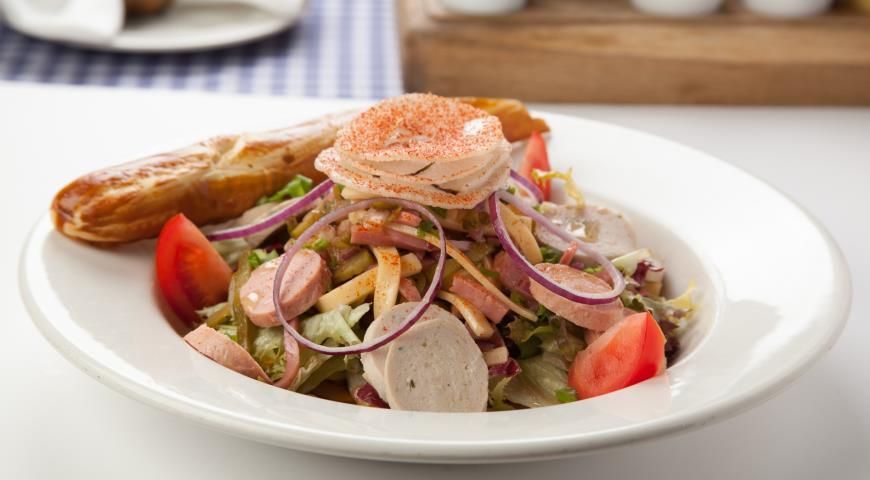 салат мюнхенский рецепт