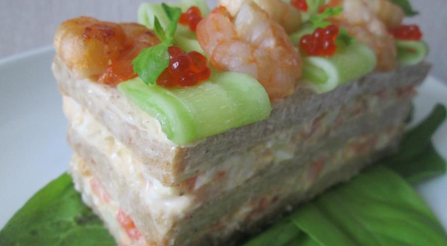Рецепт Исландский сэндвич