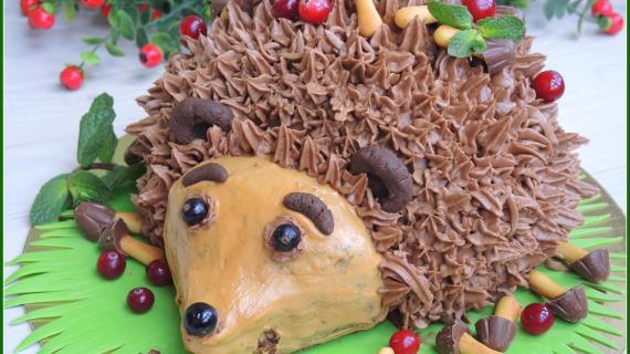 Торт ежик рецепт пошагово