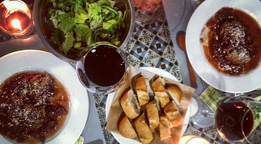 Рецепт Тефтели по-итальянски в томатном соусе