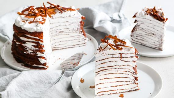 блинный торт рецепты с фото пошагово