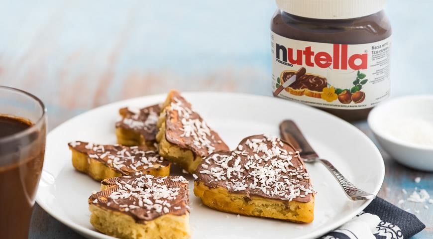Рецепт Имбирные пряники с пастой Nutella®