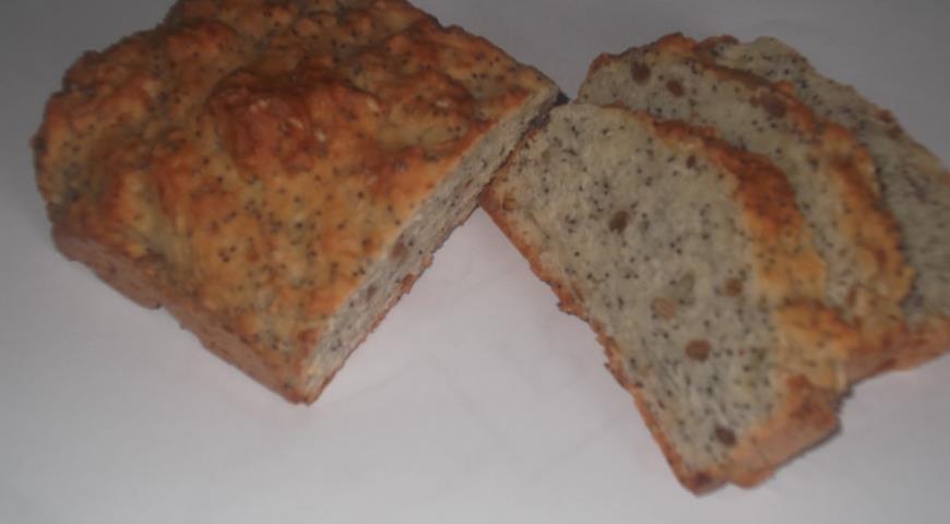 Рецепт Хлеб содовый с семечками, маком и кунжутом