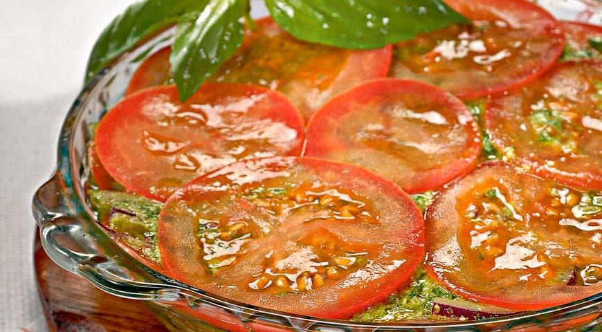 рецепт салат помидоры с луком по узбекский