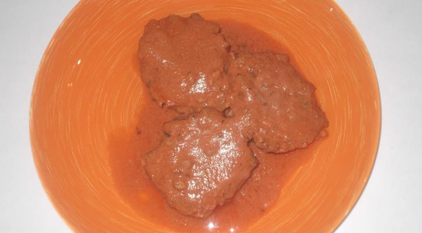Рецепт Гречаники в томатно-сметанном соусе