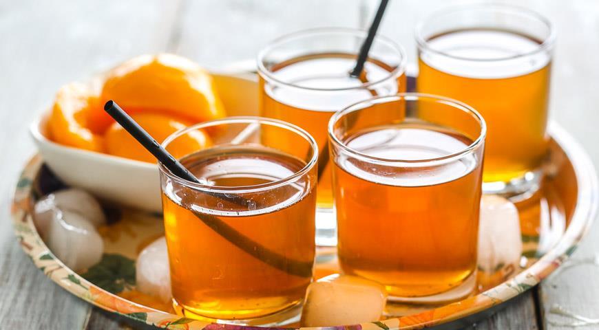 Рецепт Ванильно-жасминовый холодный чай