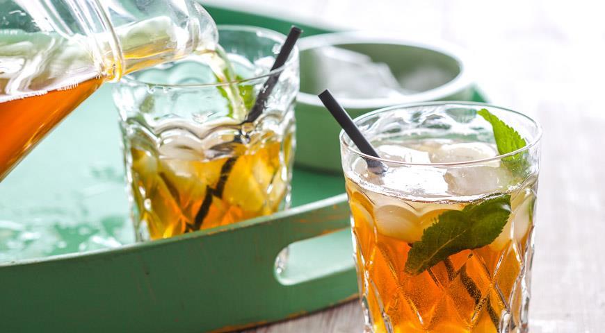 Рецепт Холодный чай с мятой