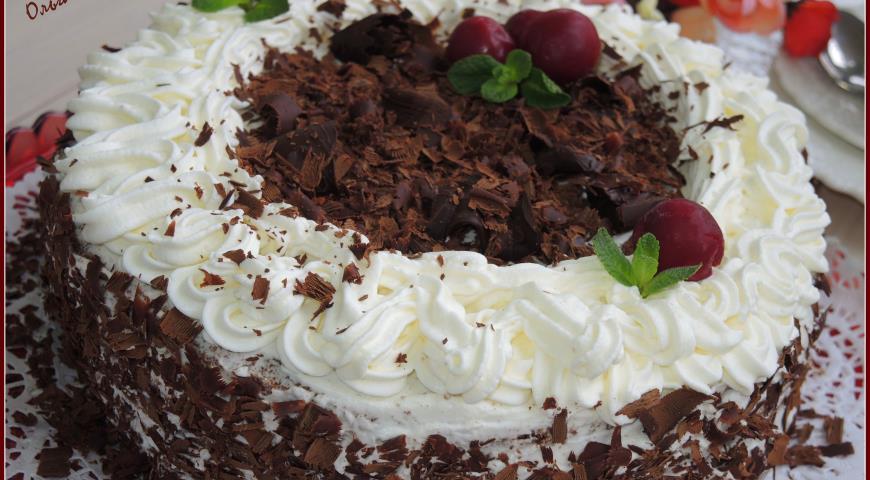 Торт черный лес рецепт пошаговый рецепт