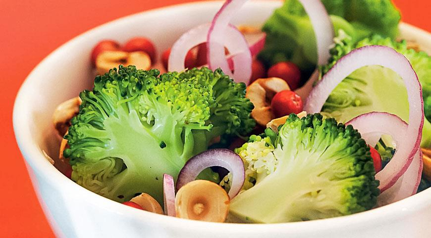 салат из свежей брокколи рецепты приготовления