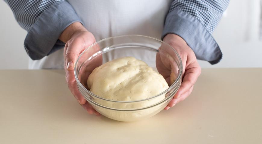 Постные пирожки с картофелем. Шаг 1