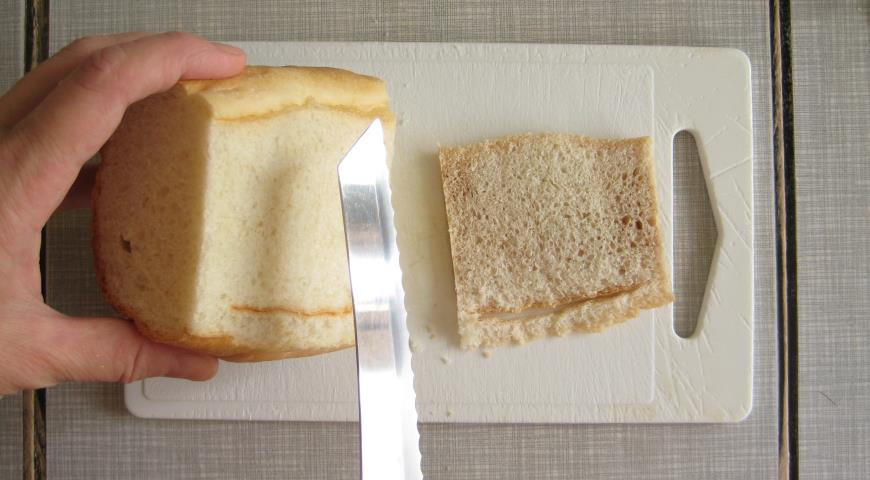 Горячие бутерброды «В итальянском стиле» . Шаг 1