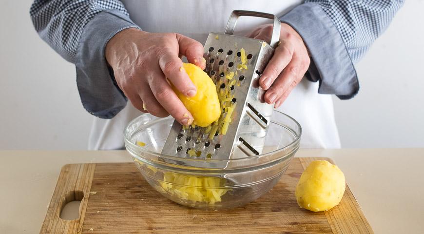 Постные пирожки с картофелем. Шаг 2