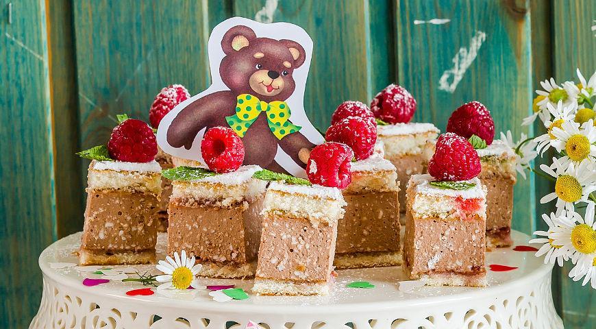 Рецепт Мини-пирожные для детского праздника