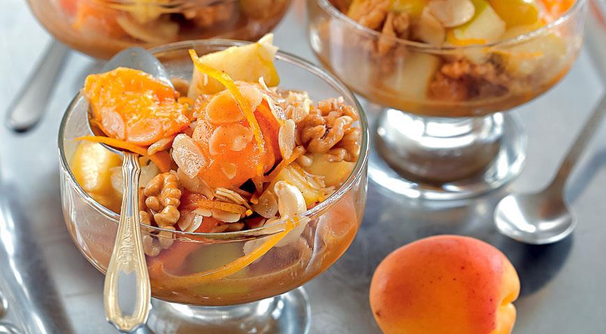 Рецепт Медовый десерт к чаю