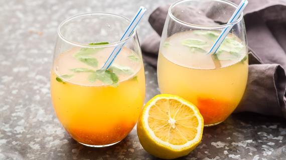 Домашний лимонад, пошаговый рецепт с фото
