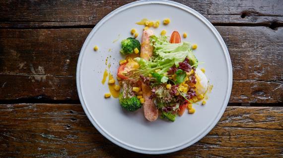Готовим вкусные салаты из овощей