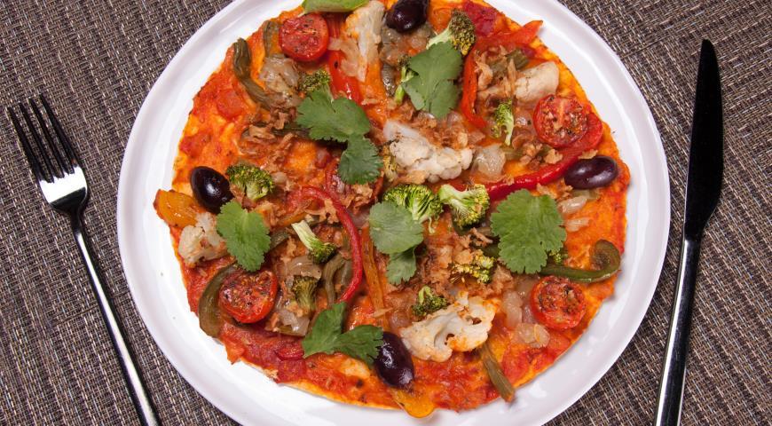 Рецепт Кесадилья с тыквой и овощами
