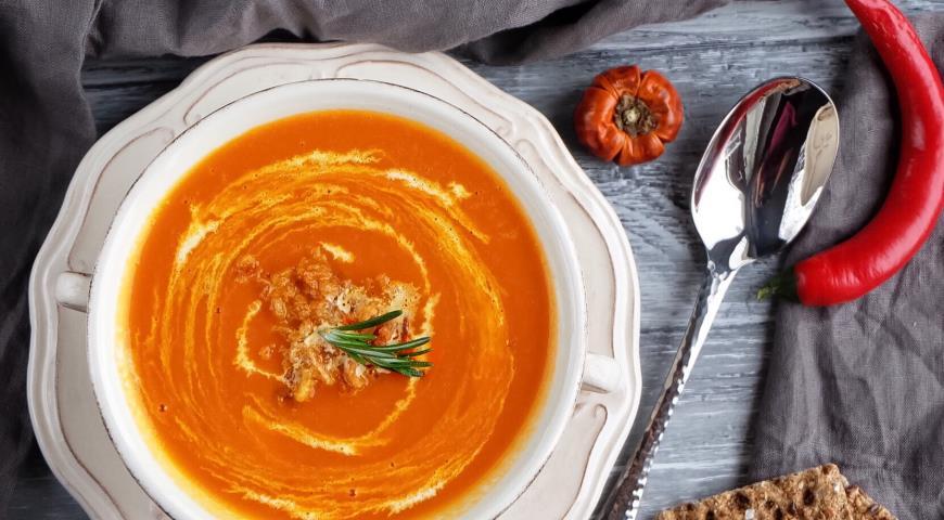 вкусный тыквенный суп рецепт с фото