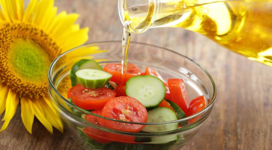 Чем можно заменить растительное масло в салате