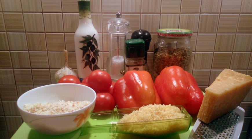Запеченные овощи а-ля итальяно. Шаг 1